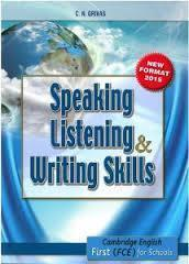 FCE SPEAKING LISTENING WRITING SKILLS ST/BK 2015
