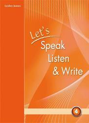 "LET""S SPEAK LISTEN & WRITE 4 ST/BK"