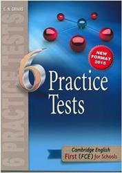 FCE 6 PRACTICE TESTS ST/BK 2015
