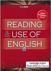 FCE READING & USE OF ENGLISH ST/BK 2015